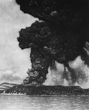 Krakatoa on August 26 1883