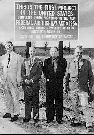 First Paved Highway
