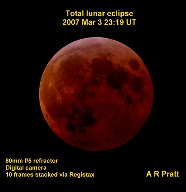 February's Red Moon: Lunar Eclipse On 21 February