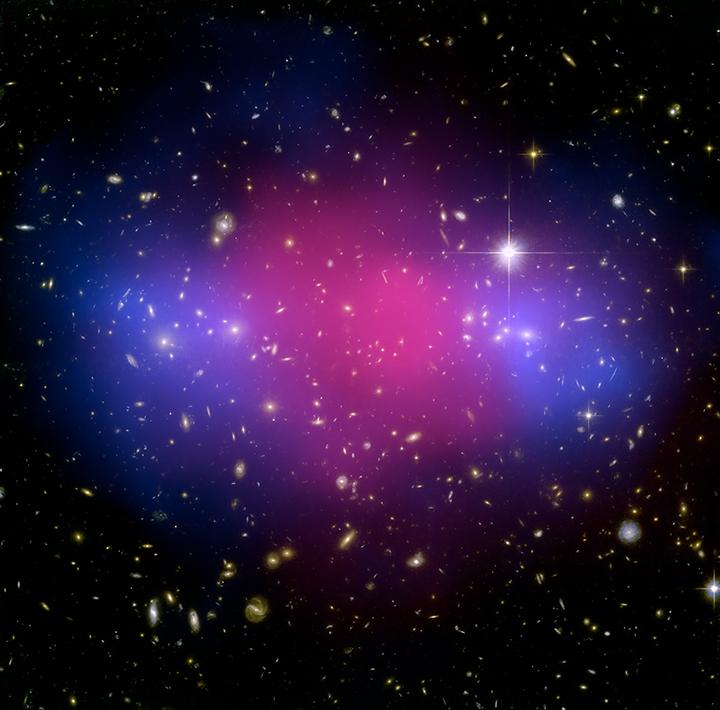 MACSJ0025.4-1222 Cluster Shows Clear Separation Between Dark Matter, Ordinary Matter