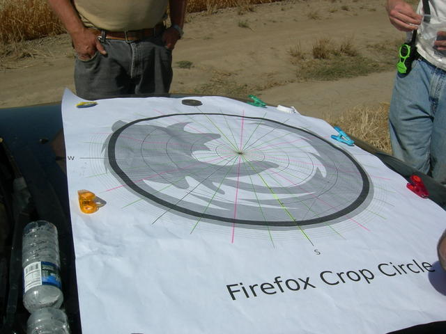 Crop Circle Design Map