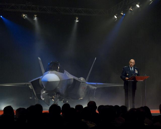 F-35 inauguration ceremony