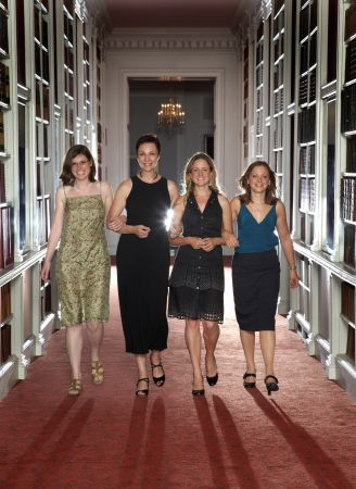 2009 LOreal UNESCO For Women In Science Fellows Nathalie Seddon Elizabeth Murchison Jennifer Bizley Patricia Alireza