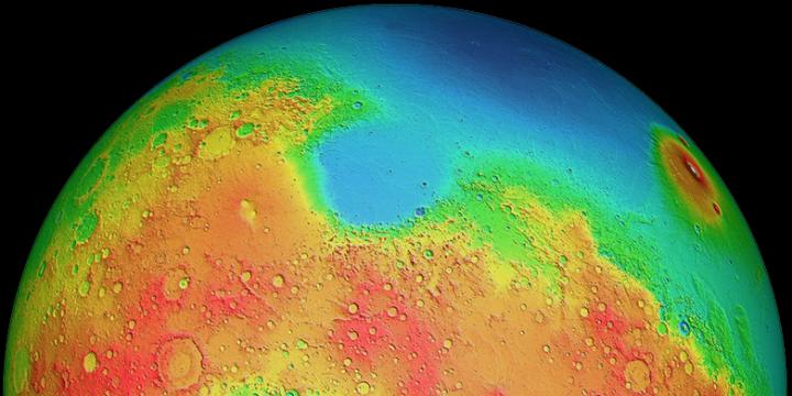 Mars Dichotomy - Did A Giant Impact Shape The Southern And Northern Hemispheres?