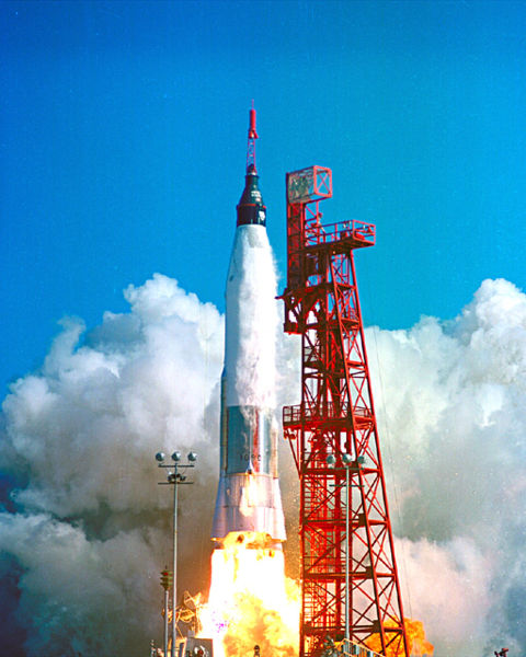 Launch of the Mercury 6 on February 20, 1962