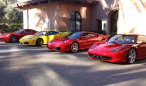 Four Ferraris And A New Challenge