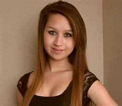 Photo of Amanda Todd from Wikipedia