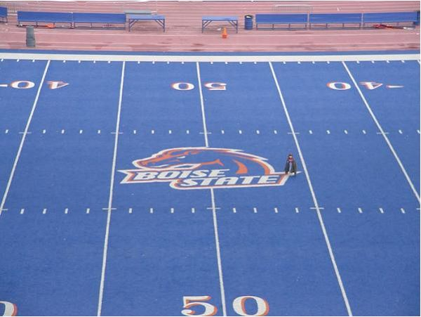 Blue Football Fields: Upping The Ante