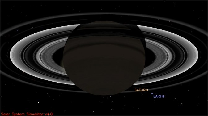 Wave At The Sky Tomorrow - You Are Being Photographed From Saturn
