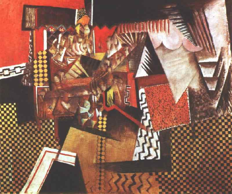 the Chinese Restaurant by Max Weber