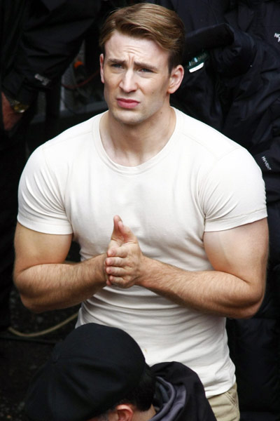 Chris Evans As Captain America Science 2 0