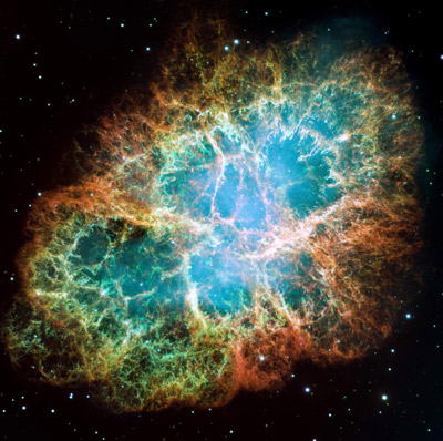 Crab Nebula (courtesy NASA/ESA)