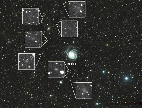 7 Dwarf Galaxies Found By Frankenscope