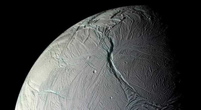 Enceladus crust