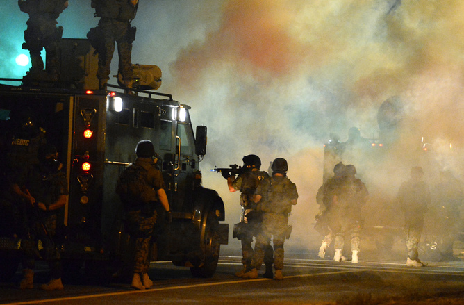 Militarized Policing Is Not The Answer To Ferguson's Problems