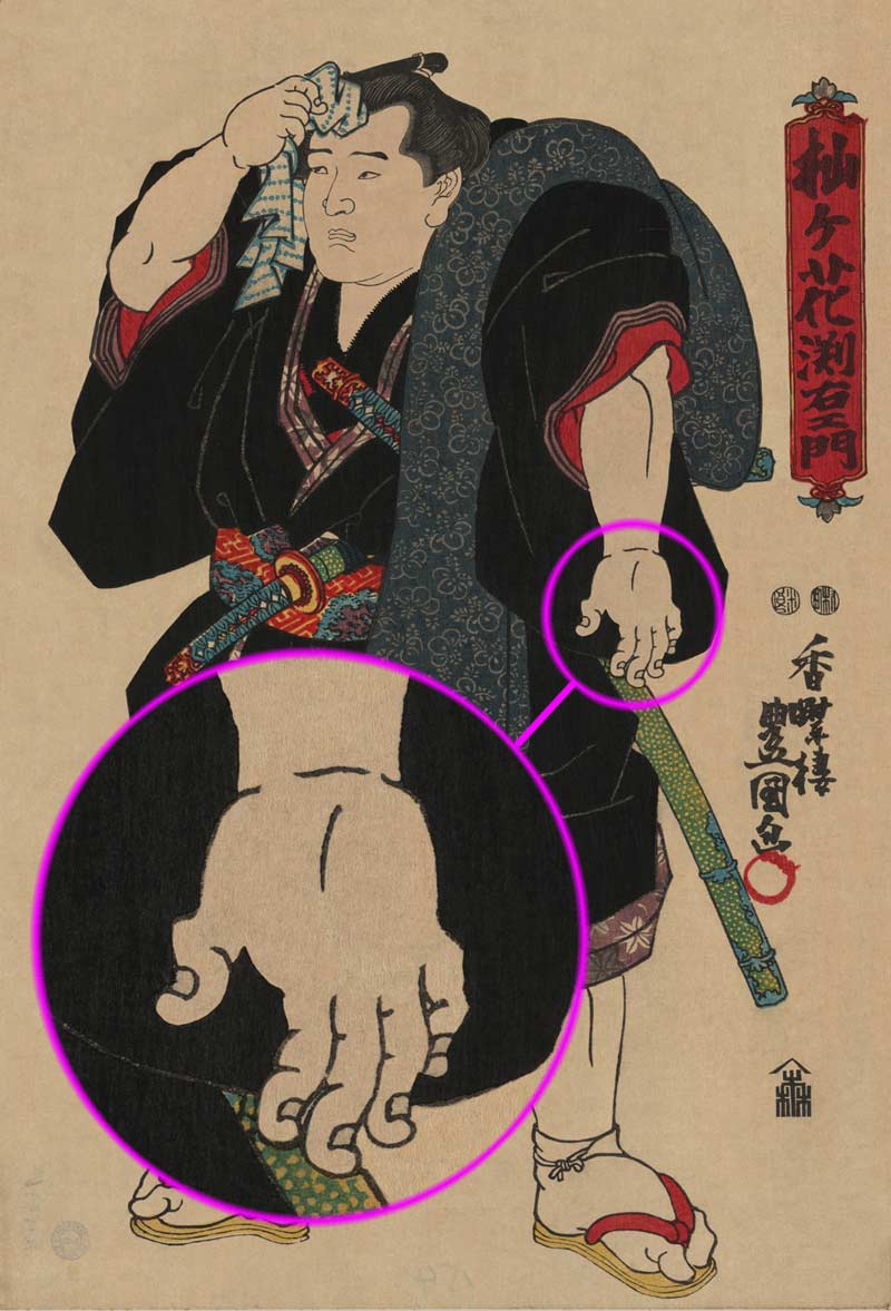 The Importance Of Finger Lengths (for Sumo Wrestlers)