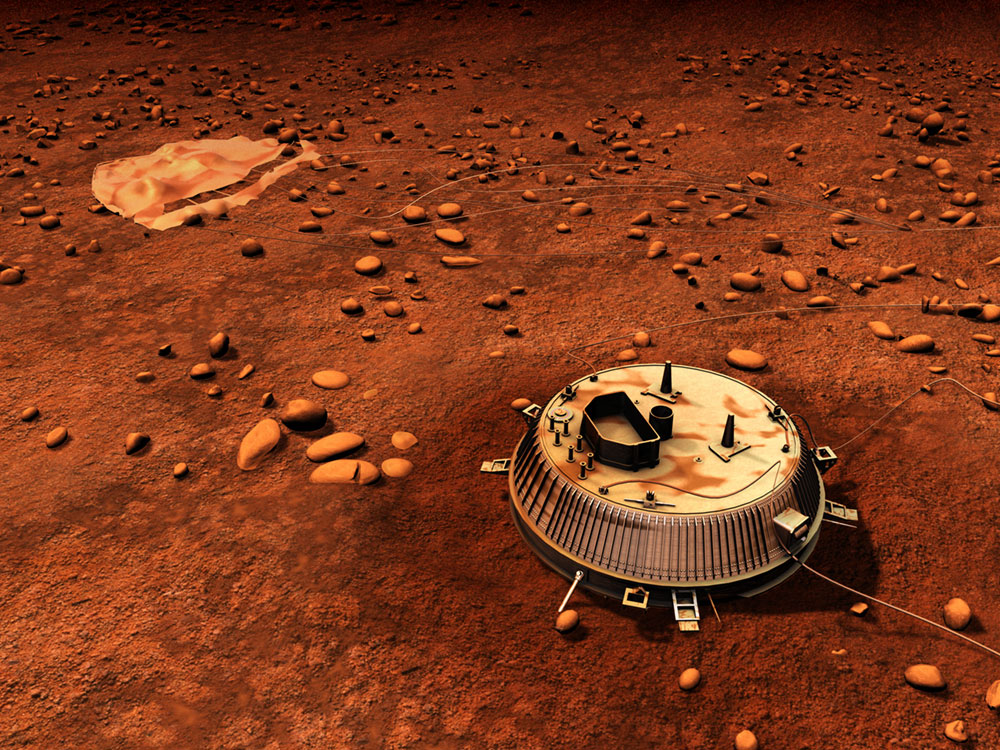 Huygens Didn't Land On Titan With A Splat - And Why That Is Scientifically Important