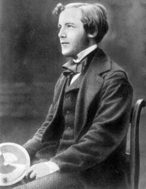 James Clerk Maxwell young