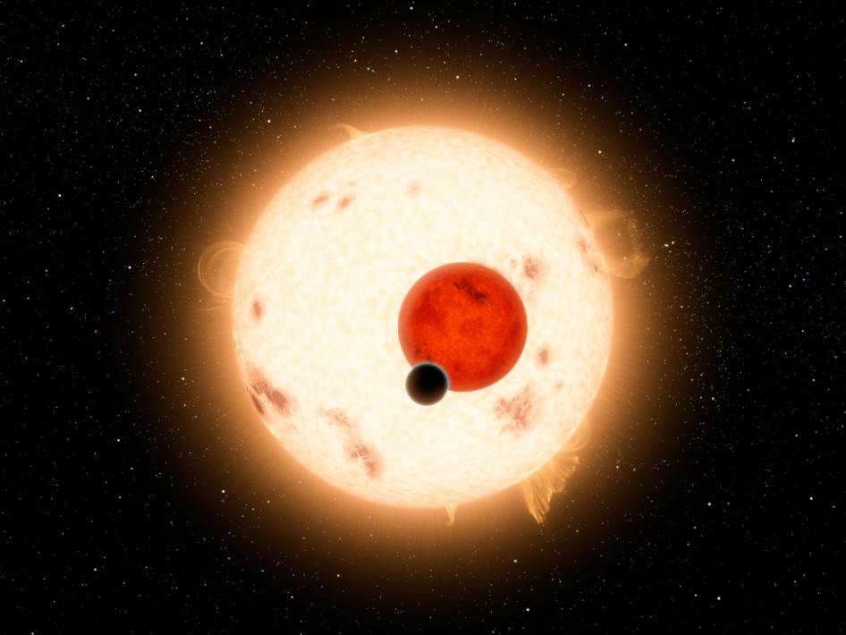 Kepler-16b where the sun sets twice