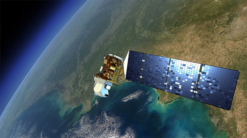 Landsat 8 satellite