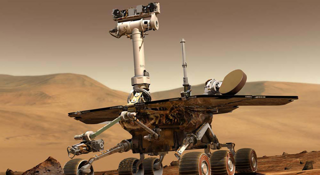 Mars Exploration Rover artist conception