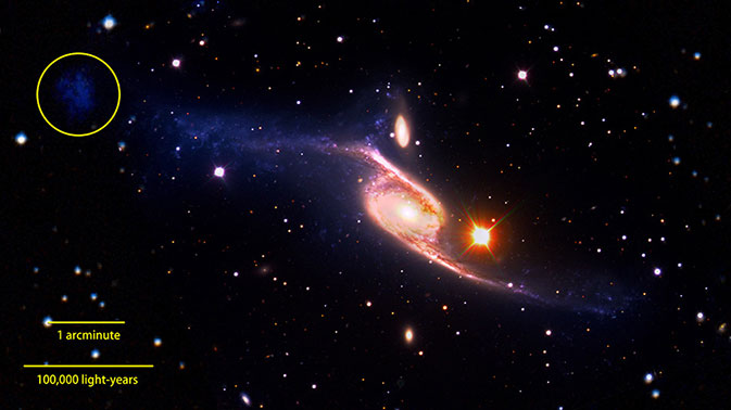 NGC 6872 Declared The Largest-known Spiral Galaxy