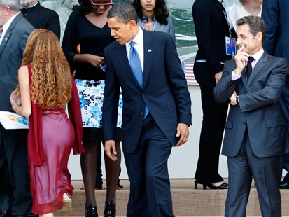 Obama Sarkozy 16 year old girl