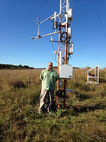Investigating Soil Moisture Dynamics Using Cosmic-Ray Technology