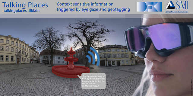German Research Center For Artificial Intelligence: Smart Eye Tracking Glasses For Augmented Reality