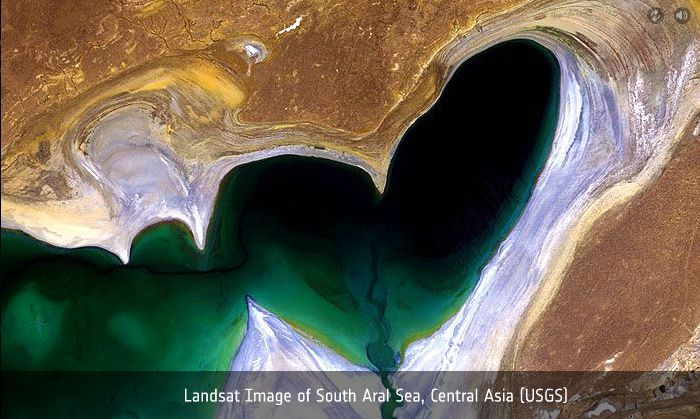 South Aral Sea Central Asia