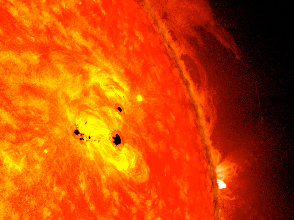 Giant Sun Spot The Size Of 6 Earths Grows In 48 Hours