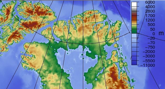 Similiar Detailed Topographical Map Of Greenland Keywords