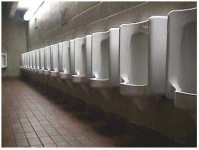 The Urinal Problem - Minimized