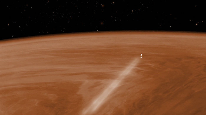 After Cloud Surfing Venus, Express Is Running Out Of Gas