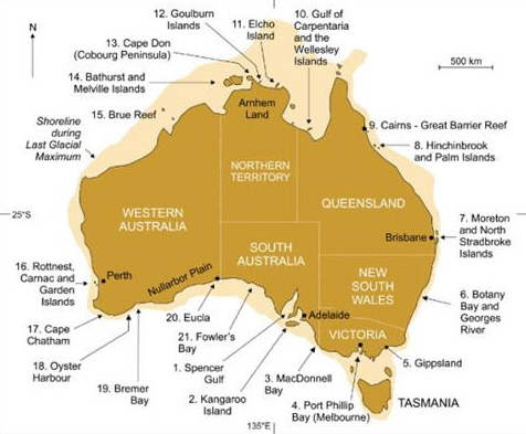 If Stories Are Science, Then Aborigines Remember Australia's Coastline From 7,000 Years Ago
