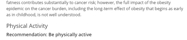 American Cancer Society Nutrition Statements Are More Aspirational Wellness Than Evidence-Based Guidelines