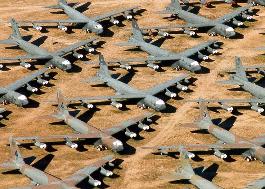 Tucson S Airplane Graveyard A Different Kind Of War