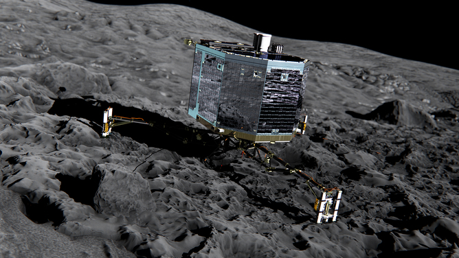 Philae: Rosetta Lander Will Seek A Close Encounter With Comet 67P's 'Primordial Soup'
