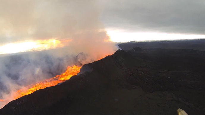 Erupting Bardarbunga Volcano In Iceland Sits On A Massive Magma Hot Spot