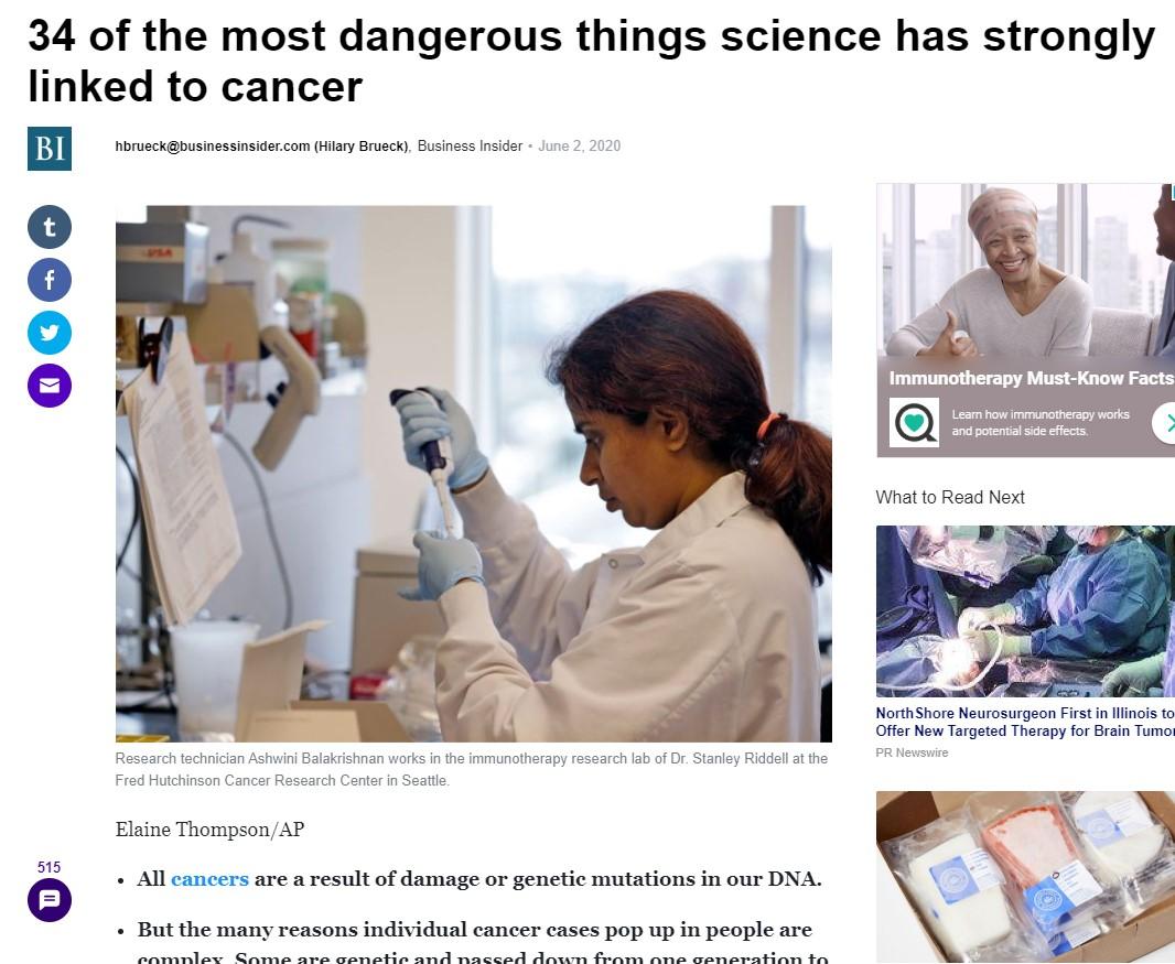 Business Insider Takes A Trip Down 2019 Chemophobia Lane