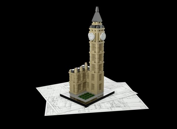 Big Ben lego, copyright lego.com