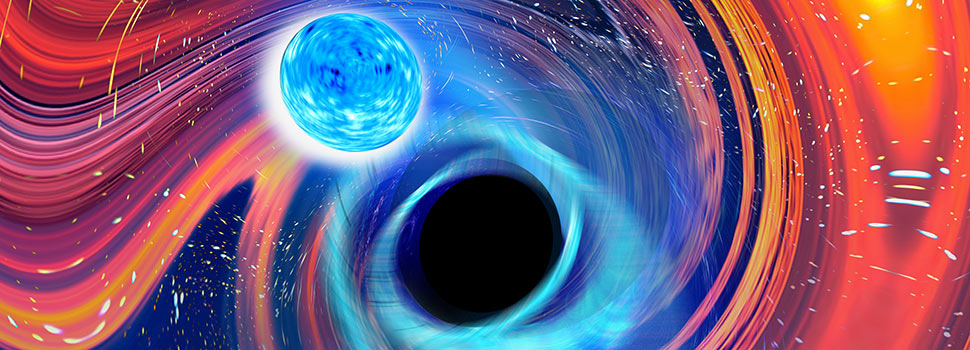 A Gravitational Wave From A Black Hole-Neutron Star Merger 900,000,000 Light Years Away Just Hit Earth