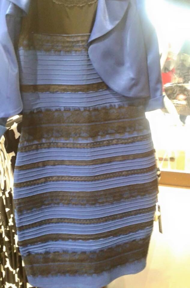 The Real Meaning Of The Blue Black White Gold Dress