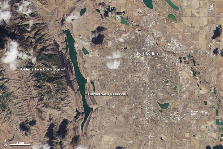 First Landsat 8 satellite images
