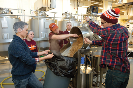 Spent Grain From Beer Making As Human Food