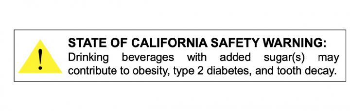 Epidemiologists Advocate For Warning Labels On Soda - And Hope California Will Notice