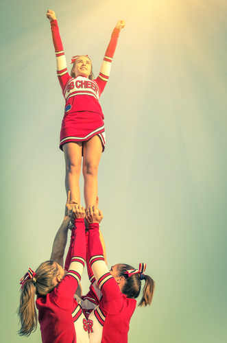 Cheerleading Among Safest High School Sports