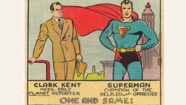 Clark Kent and Superman in the 1940s