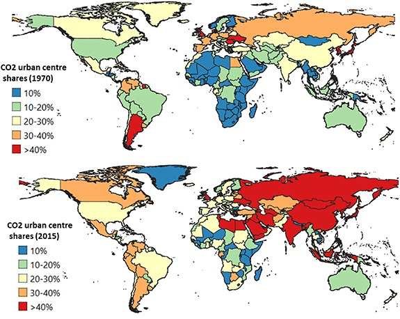 Urban Emissions Decreased In High-Income Countries And It Would Be More If 'Virtual' Pollution Was Not Included