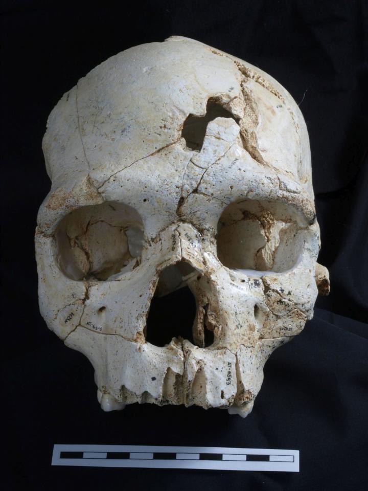 CSI 430,000 B.C. - A Murder Mystery?